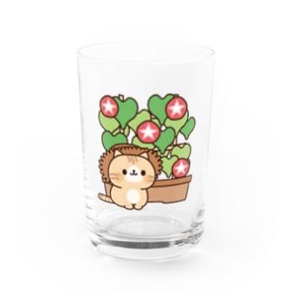 ネコがいっぱい/あさがおver. Water Glass