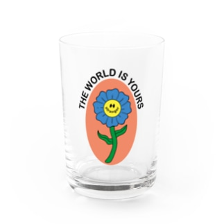 Flower smile 4 Water Glass