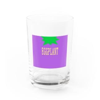 EGGPLANT Water Glass
