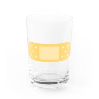 絆創膏イラスト Water Glass