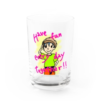 Have fun every day together! Water Glass