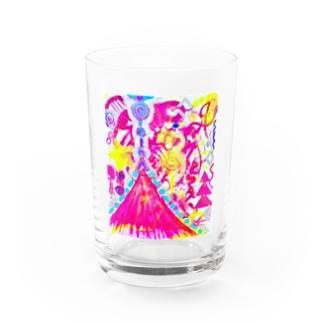 LOVE FUJI  Water Glass
