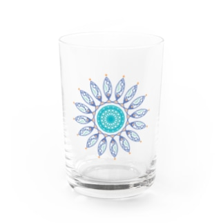 to the sea Water Glass