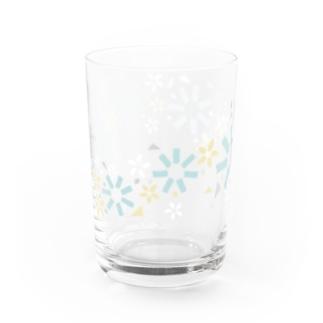 おやつ柄グラス(summer color ver.) Water Glass