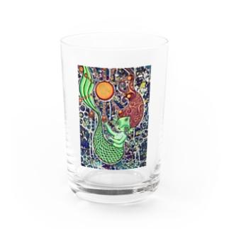 〜深海の満月グラス〜 Water Glass
