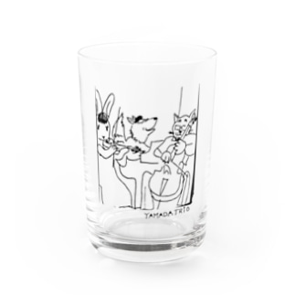 YAMADA TRIO(ヤマダトリオ)のYAMADA TRIOロゴ原案 Water Glass