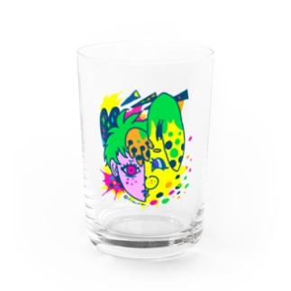 ウサチャンがすんごい近い。 Water Glass