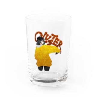 Cluster X ねこうめ 9th anniversary Water Glass