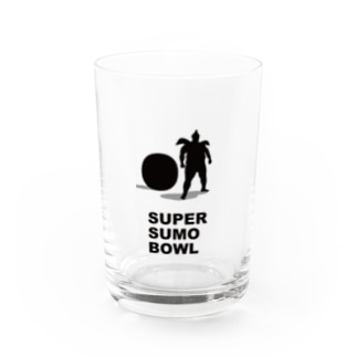 SUPER SUMO BOWL Water Glass