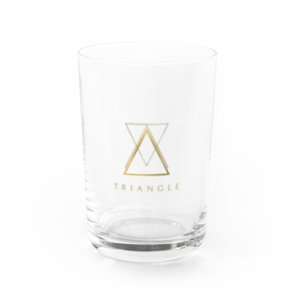 triangle T Water Glass
