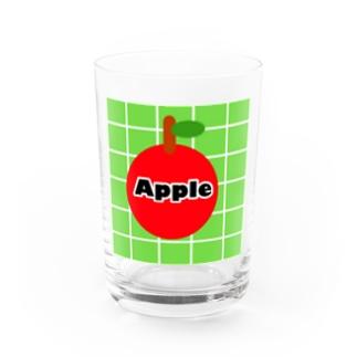 レトロApple Water Glass