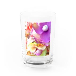 賽子のFake Water Glass