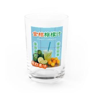 台湾のフルーツジュース屋さん Water Glass