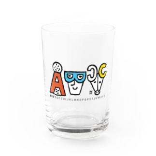 ABC Water Glass