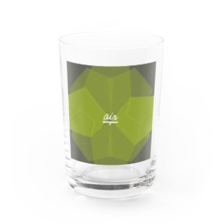 air 2021 green edition Water Glass