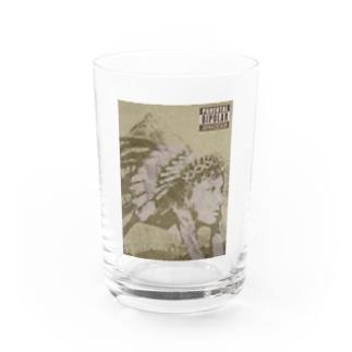 Kokopelli Water Glass