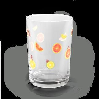 イラストレーター おおでゆかこのcitrus fruits Water Glass