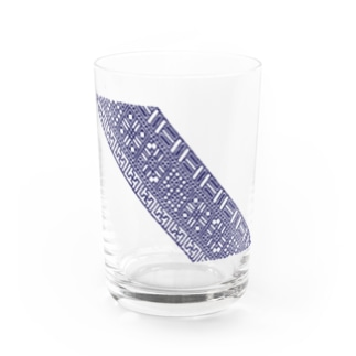 cogin+T No.011 手刺しこぎん刺し Water Glass