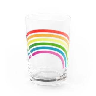 レトログラス レインボー Water Glass