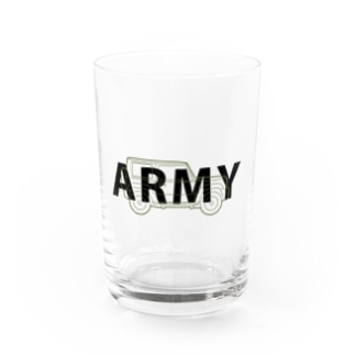 U.S.ARMYなジムニー Water Glass