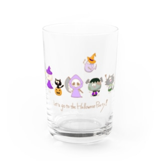Let's go to the Halloween Party! Water Glass