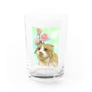 ののちゃん Water Glass