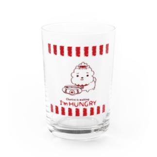 ハングリー♪チャリゾー Water Glass