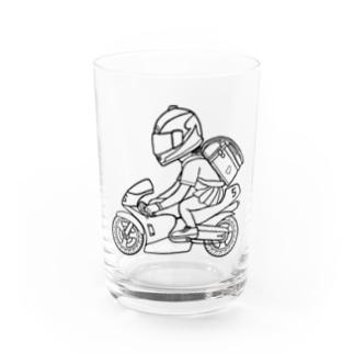 ポケバイ Water Glass