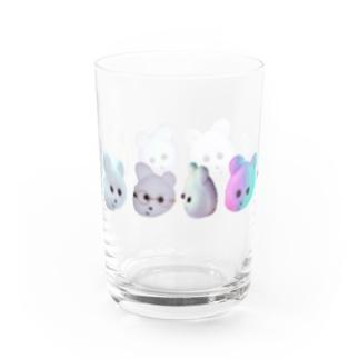くまきちきぶん Water Glass