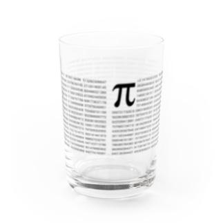 円周率2221桁 Water Glass