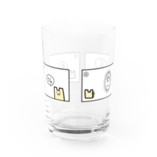 2Dうさぎ 4コマ漫画 Water Glass