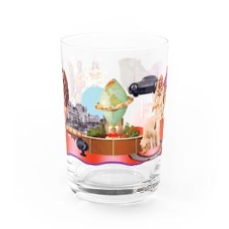 pedro nekoiのMUNDOS 1 Water Glass前面