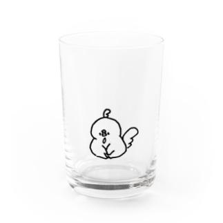 おすわりムニョル Water Glass