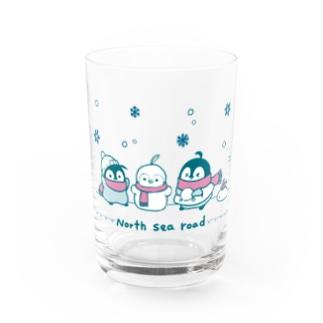 焼きパンショップのHOKKAIDO 焼きペン Water Glass前面