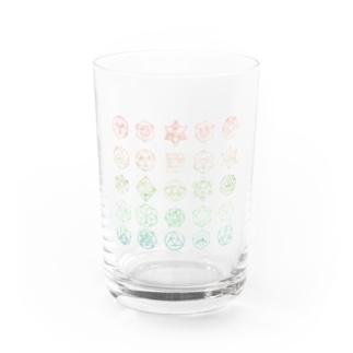 幾何学 Water Glass