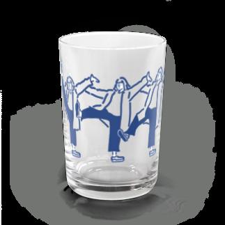 タカタ ナツキの脚上げタカタさん Water Glass前面