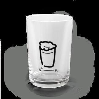 モリタケルのビール Water Glass前面