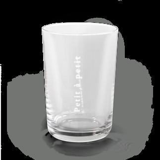Little bit,のPetit a petit Water Glass前面