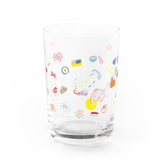 RICE RICE RICE Water Glass
