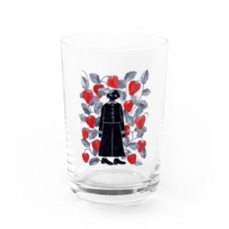 strawberry Water Glass