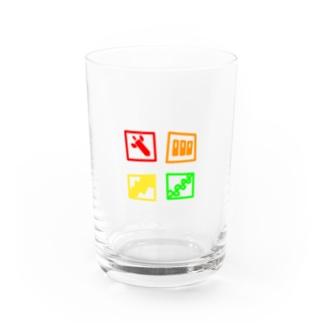 🤔のQ-Weapon Water Glass前面