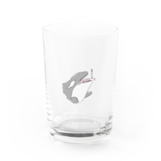 hitomin しゃちイラストグッズ Water Glass