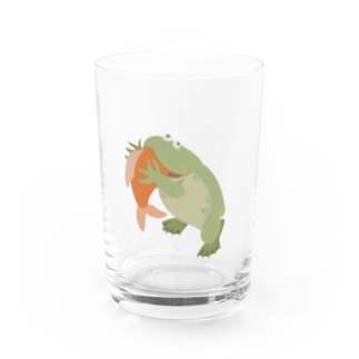 もぐもぐバジェットガエル Water Glass