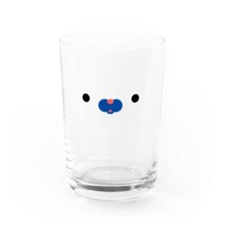 きりんフェイス Water Glass