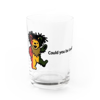 Could you be loved  RASTAベアシリーズ Water Glass