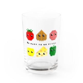We want to be pizza. Water Glass
