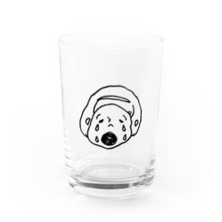 等身大GIRL Water Glass