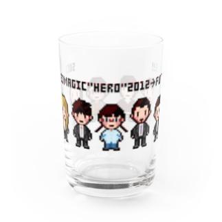「HERO」ドットデザイン Water Glass