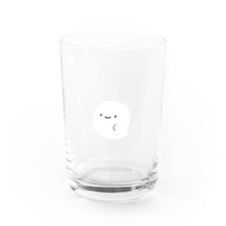 牛乳飲みなおばけ Water Glass