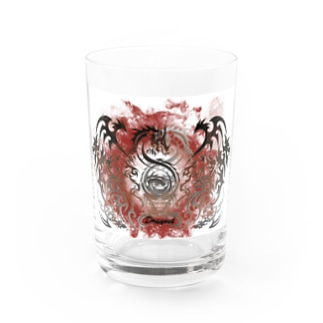 Fire Circle DRAGNET Water Glass
